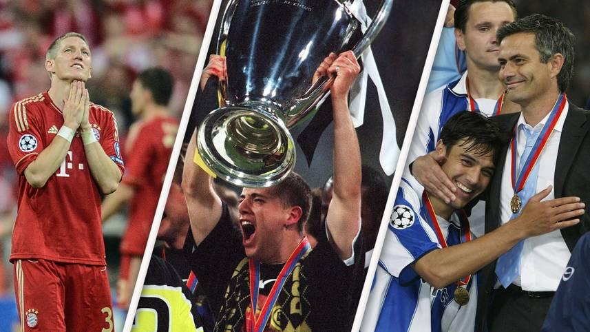 """Nächste Chance auf ein """"Finale dahoam"""" für den FC Bayern. München erhält von der UEFA erneut den Zuschlag für ein Champions-League-Finale. Es wird das bereits neunte Königsklassen-Finale in Deutschland sein. SPORT1 blickt auf die vergangenen Endspiele zurück ..."""