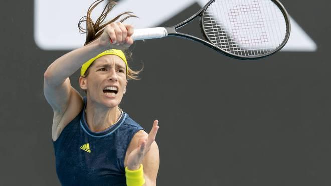 Andrea Petkovic musste wegen Rückenproblemen absagen