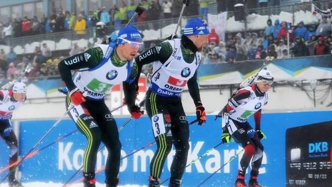 Erik Lesser und Simon Schempp gehören zu den deutschen Biathlon-Stars