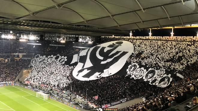 Auch gegen Standard Lüttich zeigten sie Eintracht-Fans eine grandiose Choreo
