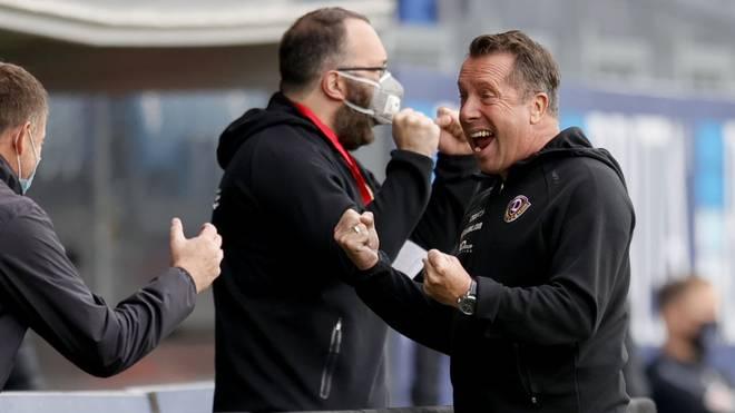 Markus Kauczinski ist seit 2019 Trainer bei Dynamo Dresden