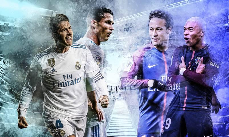 Titelverteidiger gegen Titelanwärter: Das Duell zwischen Real Madrid und Paris Saint-Germain ist der Kracher schlechthin im Achtelfinale der Champions League. SPORT1 macht vor dem Hinspiel im Estadio Santiago Bernabeu (ab 20.45 Uhr im LIVETICKER) den Head-to-Head-Vergleich