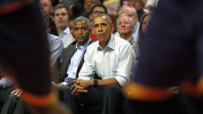 Ex-Präsident Barack Obama ist als großer NBA-Fan bekannt
