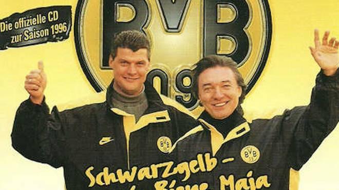 "Karel Gott besang im ""Biene-Maja-Style"" auch den BVB"