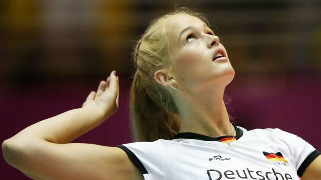 Hanna Orthmann fehlt Deutschland bei der Volleyball-EM
