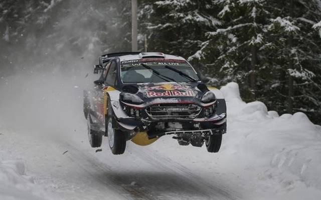 """Sebastien Ogier war als """"Schneepflug"""" bei der Rallye Schweden chancenlos"""