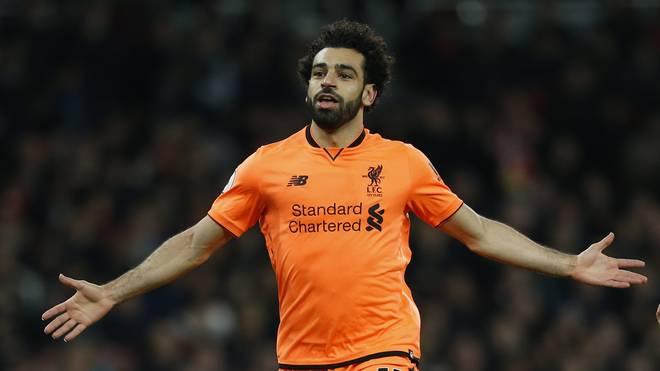 Mohammed Salah spielt seit dieser Saison für Jürgen Klopps Liverpool