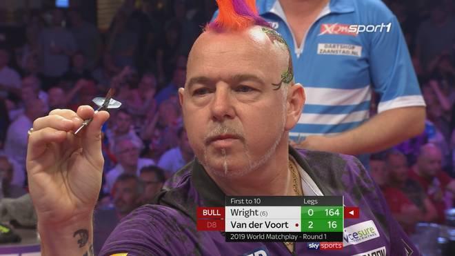 Peter Wright - Vincent van der Voort (10:8) | World Matchplay | Erste Runde