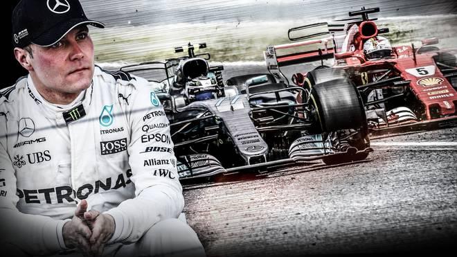 Valtteri Bottas Mercedes Formel 1 Spanien