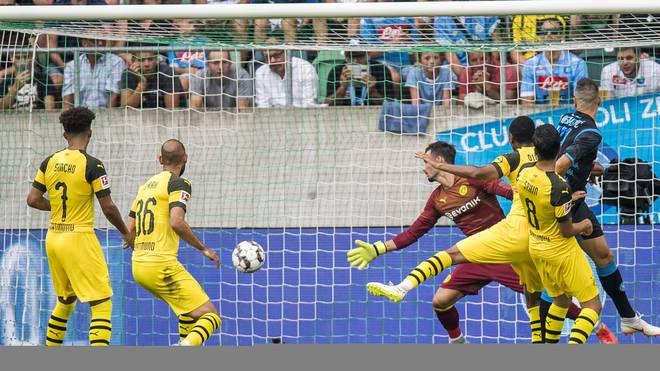 Borussia Dortmund unterliegt im Test gegen den SSC Neapel klar