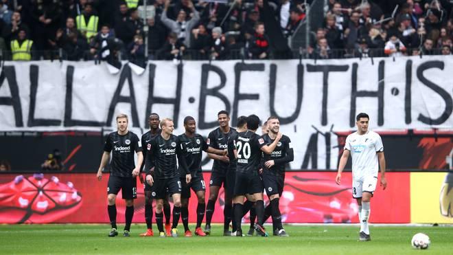 Eintracht Frankfurt v TSG 1899 Hoffenheim - Bundesliga