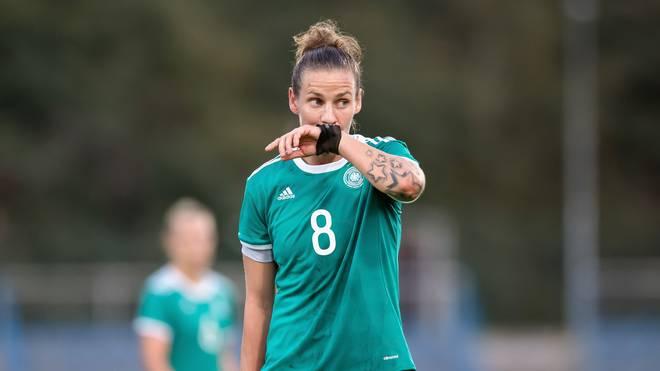 Simone Laudehr kam zuletzt im Oktober 2017 zu einem Länderspieleinsatz