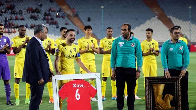 Xavi beendet Karriere und plant Zukunft als Trainer in Katar