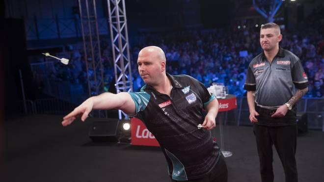 Rob Cross verlor das Finale bei den UK Open gegen Nathan Aspinall