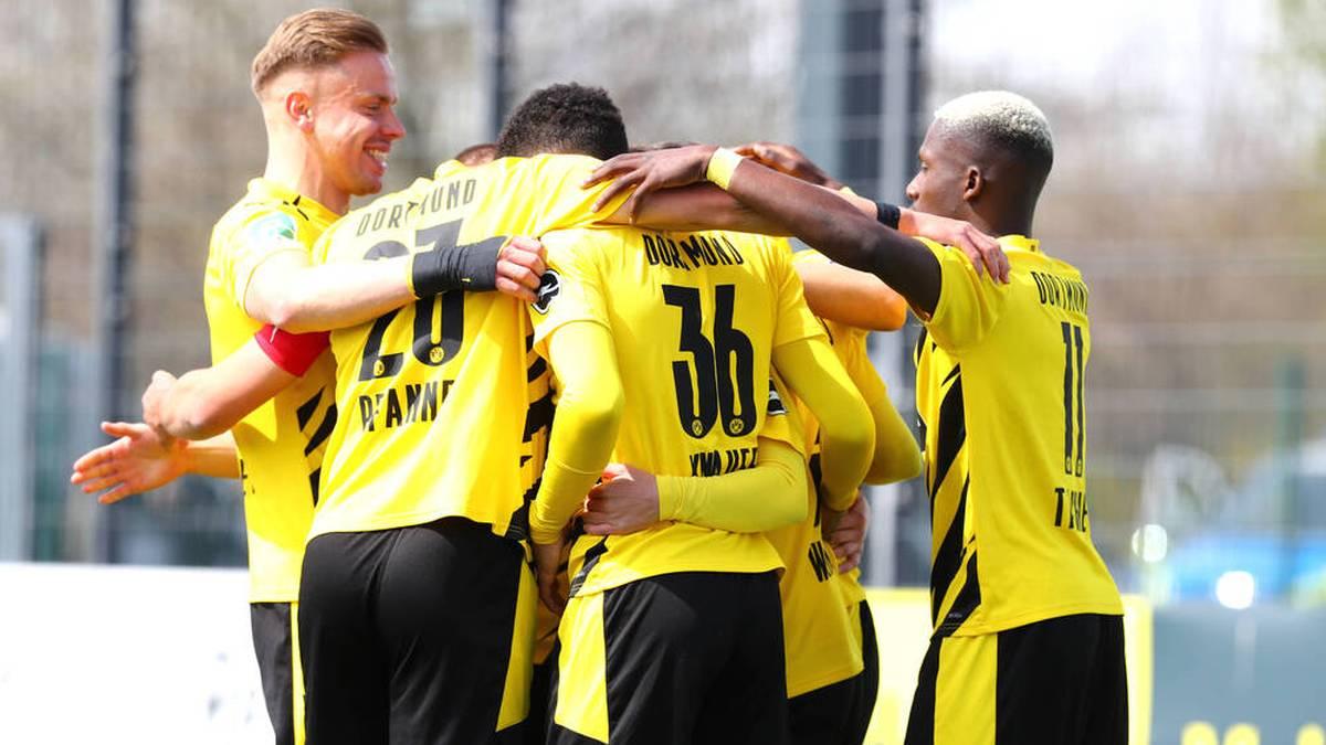 Die zweite Mannschaft des BVB steht vor dem Titel