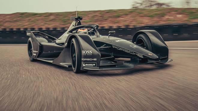Neel Jani testet das Porsche-Formel-E-Auto