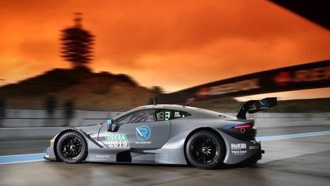 Die Wetterkapriolen in Südspanien wirkten sich auch auf Aston Martin aus