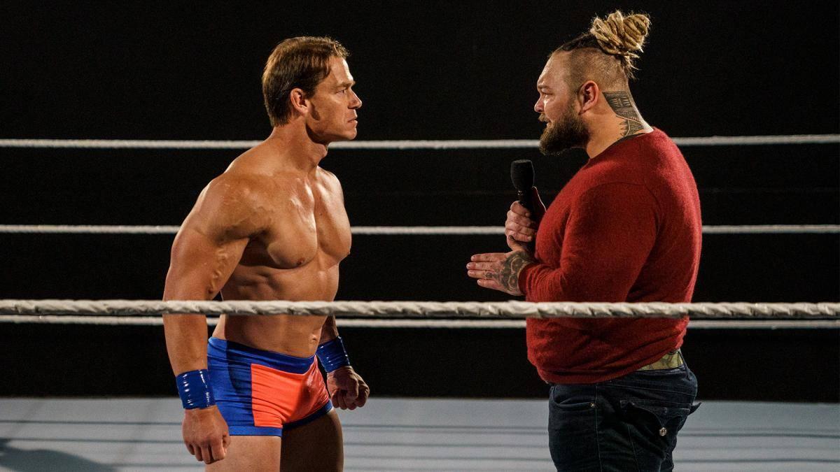 John Cena trug daselbe Outfit wie bei seinem WWE-Debüt 2002