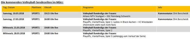 SPORT1 zeigt die Bundesliga-Playoffs LIVE im Free-TV
