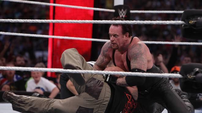 Die WWE Survivor Series (im Bild: der Undertaker) wird angeblich vom IS-Terror bedroht