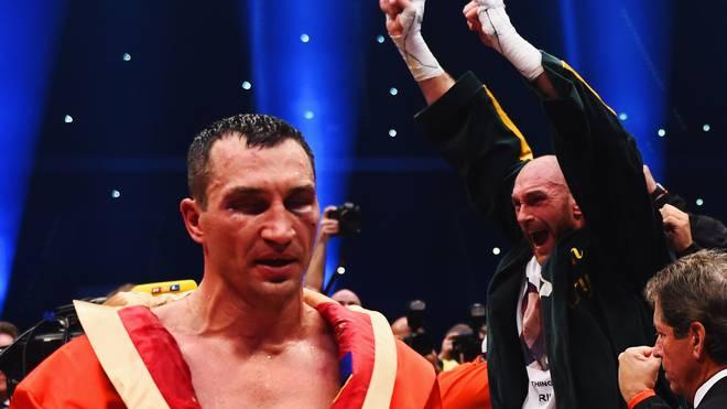 Tyson Fury nahm Wladimir Klitschko am 28. November die WM-Gürtel weg