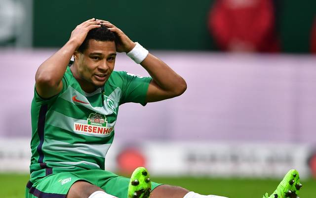 SV Werder Bremen, SV Darmstadt 98, Bundesliga, Serge Gnabry verletzt