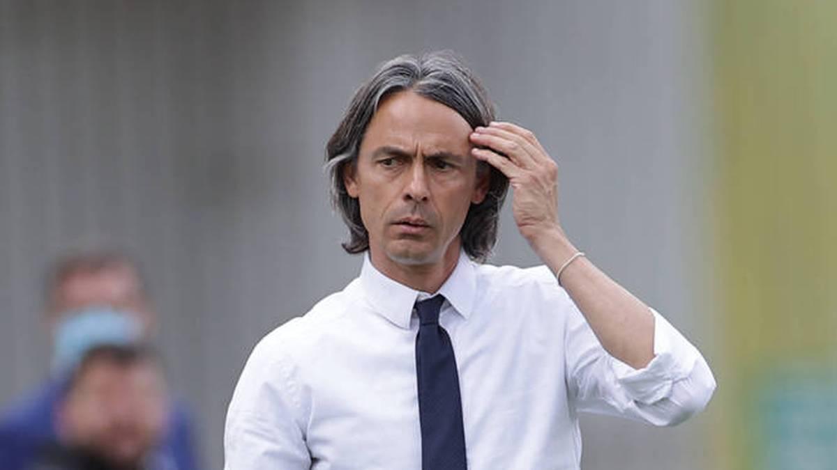 Inzaghi geht in die Zweite Liga