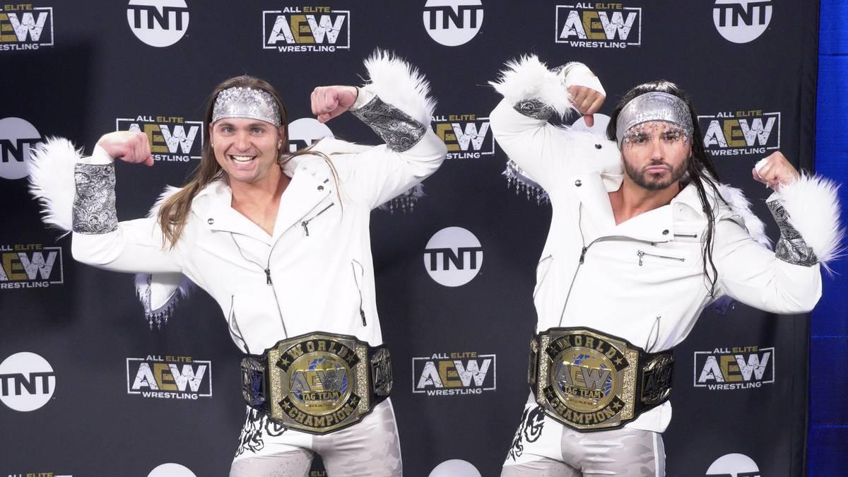 Die Young Bucks spielen bei AEW Schlüsselrollen im Ring und außerhalb