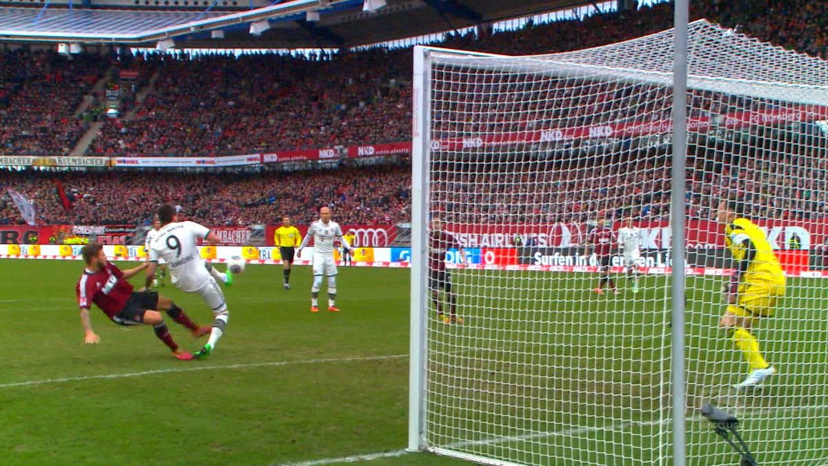 Feiner Fallrückzieher: So schön traf Mandzukic für die Bayern
