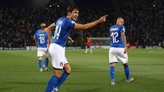 Federico Chiesa zeigte gegen Spanien eine starke Leistung