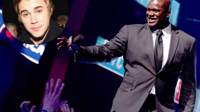 "Shaquille O'Neal ""röstet"" Justin Bieber im TV."