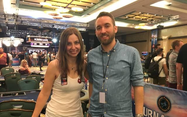 SPORT1-Reporter Sebastian Mittag sprach auf den Bahamas mit Maria Konnikova