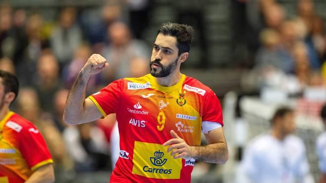 Raul Entrerrios Rodriguez gewann mit Spanien das Spiel um Platz 7