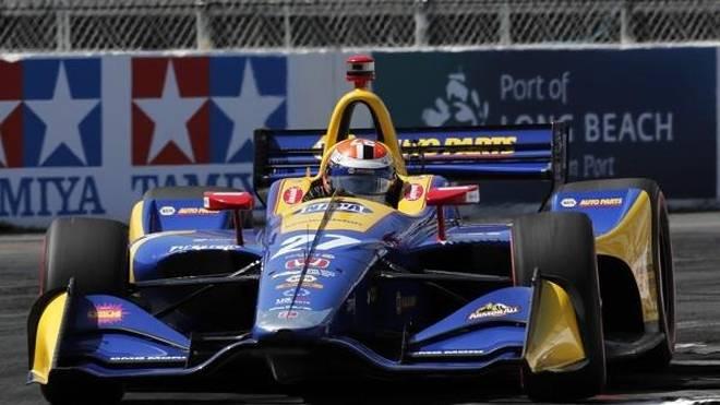 Alexander Rossi startet beim Long Beach Grand Prix von der Pole-Position