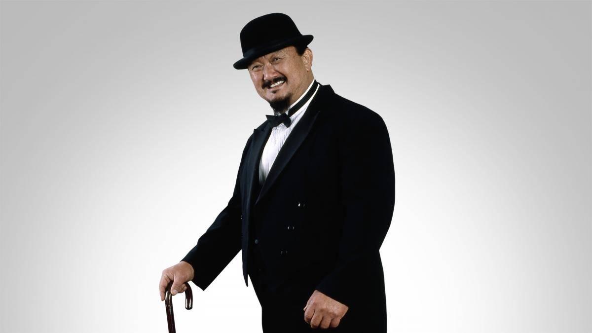 Mr. Fuji war Manager des früheren WWF World Champions Yokozuna