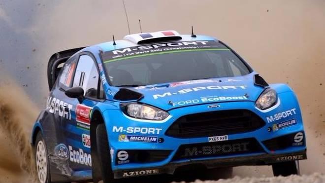 Seit 2011 setzt M-Sport den Ford Fiesta RS WRC in der Rallye-WM ein