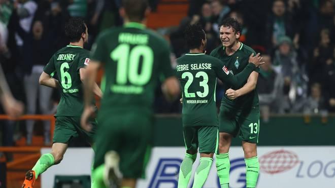 Werder Bremen schlägt den 1. FC Köln
