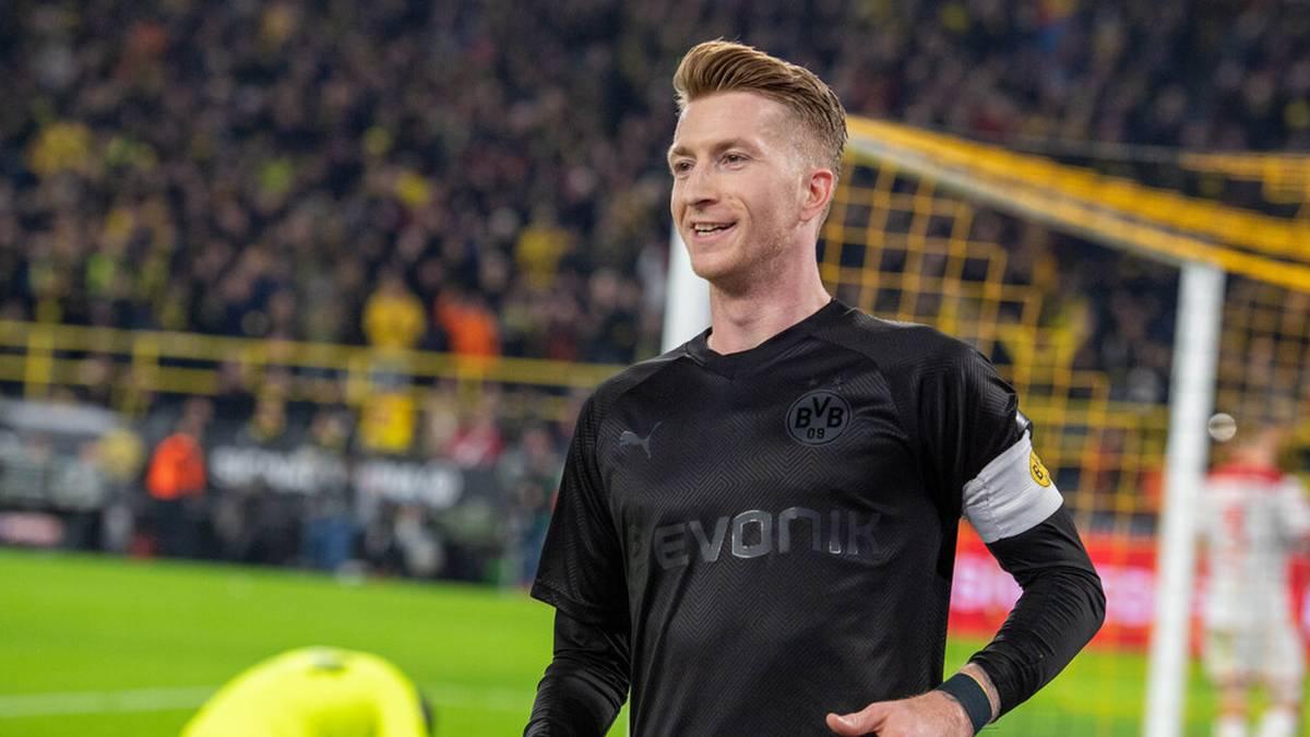 """Im Dezember 2019 liefen Marco Reus und Co. gegen Fortuna Düsseldorf im BVB-Sondertrikot """"Kohle & Stahl"""" auf"""