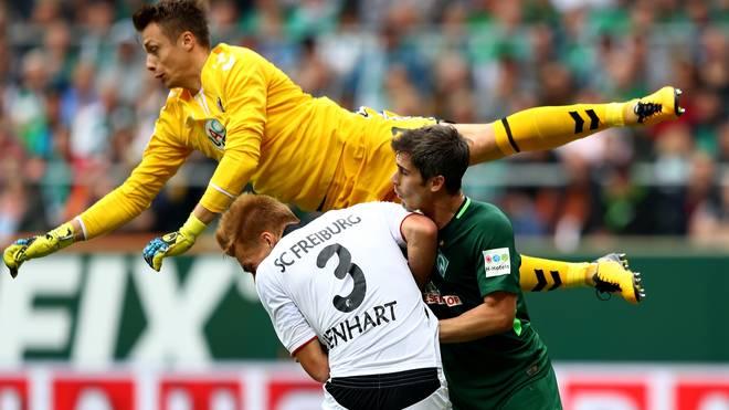 Bremen und Freiburg lieferten sich größtenteils ein Duell auf Augenhöhe