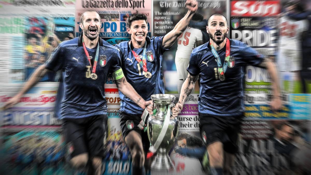 EM 20 Italien siegt im Finale gegen England   Pressestimmen
