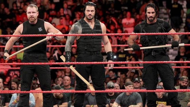 Dean Ambrose, Roman Reigns und Seth Rollins (v.l.) bilden bei WWE The Shield