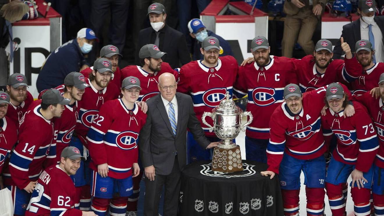 Die Montreal Canadiens haben die Clarence Campbell Trophy bereits gewonnen