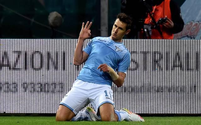 Miroslav Klose wechselte 2011 vom FC Bayern zu Lazio Rom