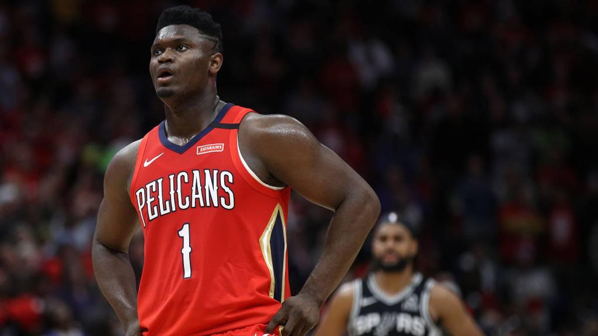 Zion Williamson haderte nach seinem Traum-Debüt für die New Orleans Pelicans mit seiner frühzeitigen Auswechslung