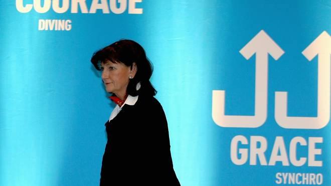 Christa Thiel war fast 16 Jahre DSV-Präsidentin