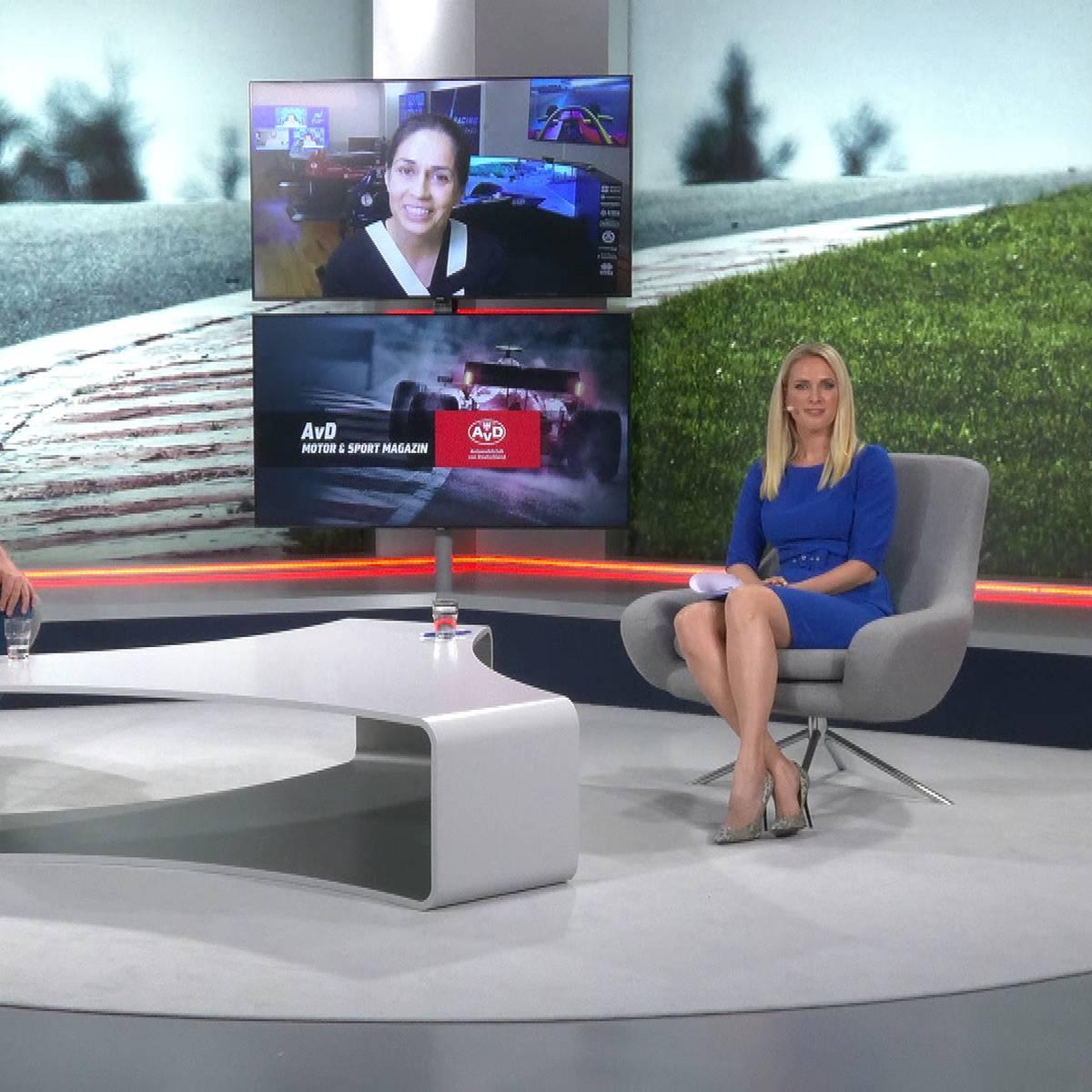 AvD Motor & Sport Magazin mit Monisha Kaltenborn und Ralf Bach