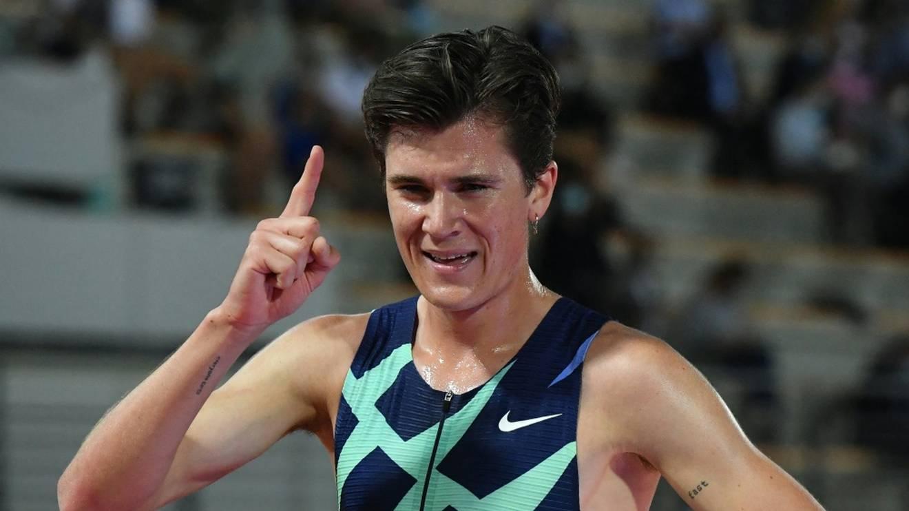 Jakob Ingebrigtsen knackt den Europarekord über 5000 m