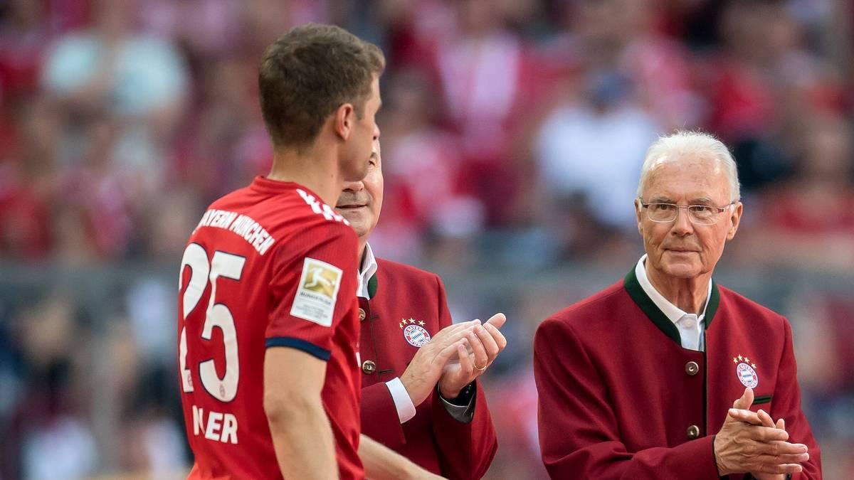 Thomas Müller wurde von Bundestrainer Joachim Löw in der Nationalmannschaft aussortiert