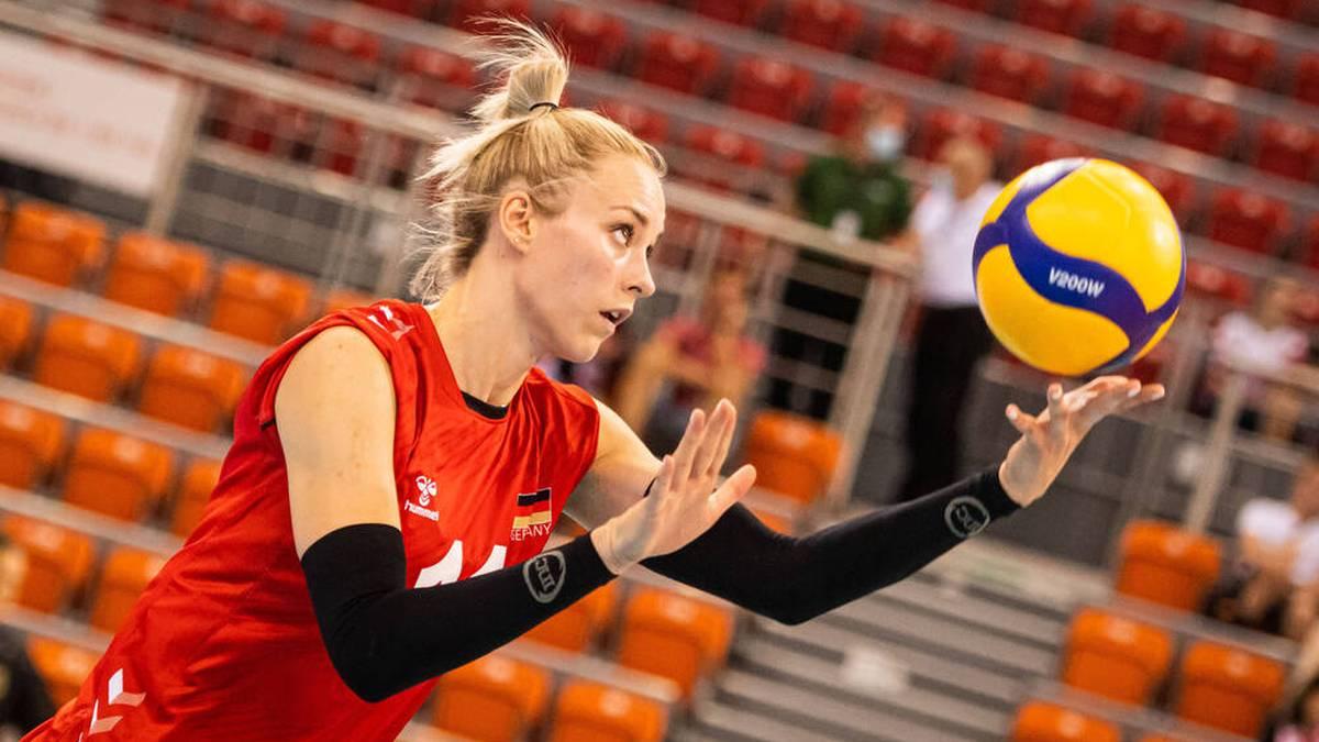 Louisa Lippmann kehrt bei der Volleyball-EM ins deutsche Augebot zurück