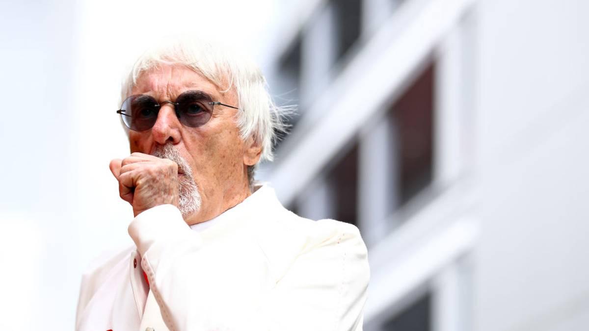Bernie Ecclestone war bis 2017 Geschäftsführer der Formula One Group
